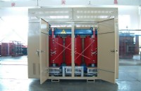 33kv Cast Resin Dry-type Transformer With Enclosure
